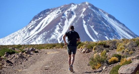 Volcano Marathon se koná v nejsušší poušti světa Atacamě.