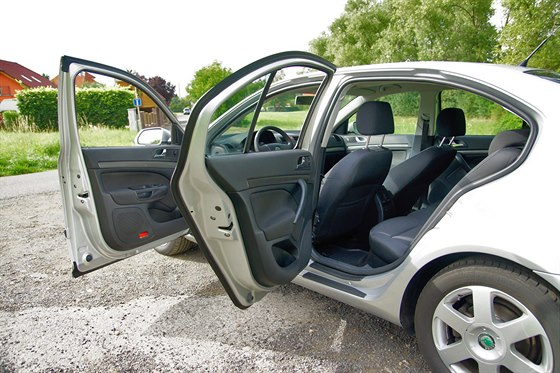 Škoda Octavia druhé generace po půlmilionu kilometrů