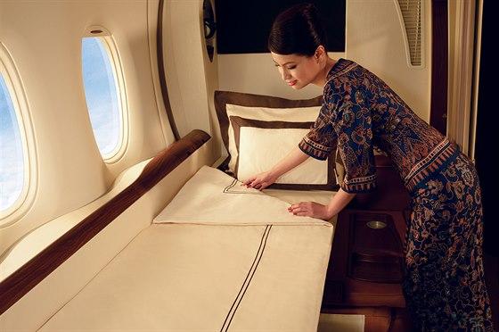 Luxusní třída s názvem Suited Class, kterou nabízejí svým zákazníkům Singapore Airlines, patří k tomu nejlepšímu co můžete na komerčních letech koupit.