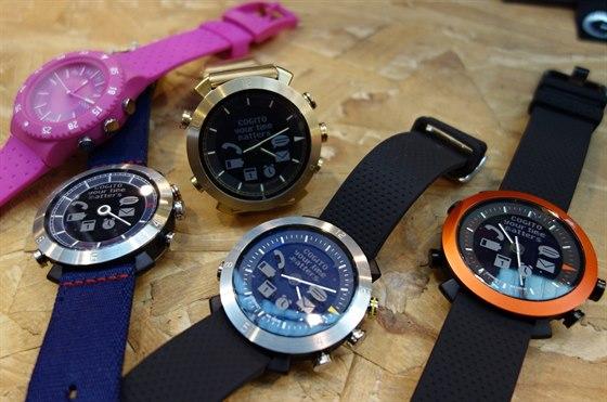 Chytré hodinky Cogito.