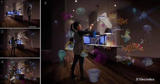 Projekt Future Hunter-Gatherer: jde o virtuální nakupování potravin inspirované přírodou.