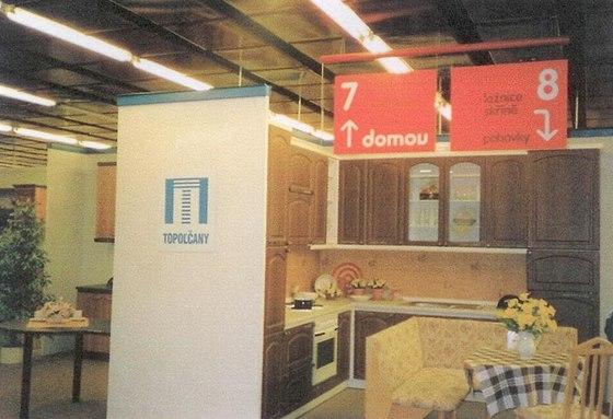 DBK v době, kdy se jmenoval Domov a několik podlaží patřilo IKEA.