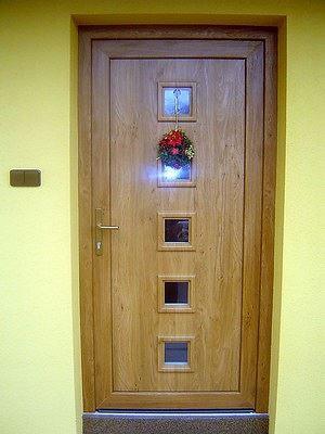Plastové dveře pro výbornou ochranu domova