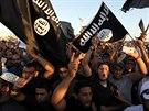 Příznivci islamistů v Benghází (21. září 2012)