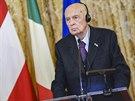 Itálie spekuluje o konci Georgia Napolitana ve funkci prezidenta.