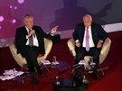 Zeman s Klausem debatovali v pražském paláci Žofín při příležitosti 25. výročí od listopadových událostí roku 1989 (15. listopadu)