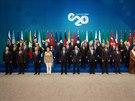 Účastníci summtu G20 v Austrálii (15. listopadu)