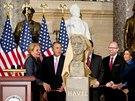 V budově amerického Kongresu odhalili bustu bývalého českého prezidenta Václava Havla (19. listopadu)