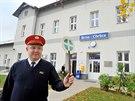 Nejkrásnějším nádražím se pro letošní rok stalo nádraží v Brně-Chrlicích (na snímku z 11. listopadu). V anketě pro něj hlasovalo téměř dva tisíce lidí ...