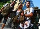 Jan Kolář, Veronika Petrová a Jiří Kopal, Česko reprezentovala na izraelském kurzu tahle trojice. Neudělala ostudu.