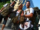 Jan Kol��, Veronika Petrov� a Ji�� Kopal, �esko reprezentovala na izraelsk�m kurzu tahle trojice. Neud�lala ostudu.