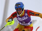 Marie-Michele Gagnonová ve slalomu v Levi.