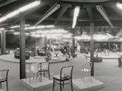 8. podlaží DBK bylo určeno pro prodej nábytku z dovozu či takzvané exportní souběhy. Byla zde i kavárna, samozřejmě nekuřácká.