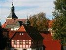 Panorama historického jádra Hohnštejn