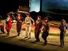 Záběr z představení Po sametu