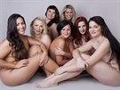 Ženy plných tvarů v kalendáři Zdravý ženský