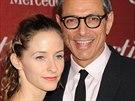 Emilie Livingstonová a Jeff Goldblum