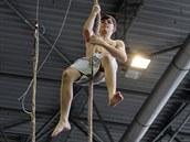Součástí čtyřdenního programu Sport life byl i závod v olympijském šplhu.