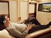 Luxusní t�ída s názvem Suited Class, kterou nabízejí svým zákazník�m Singapore...