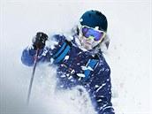 Kanadský extrémní lyžař Dave Treadway