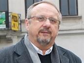 Jaroslav Marek na náměstí Svobody v Místku.