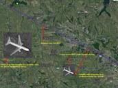 Údajné satelitní snímky zpochybňují uživatelé sociálních sítí i čtenář iDNES.cz