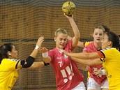 Momentka z utkání Sokol Poruba - Juve Lis