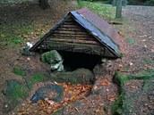 Melechovská studánka byla bohužel bez vody, snad to není navždy.