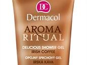 Sprchový gel Aroma Ritual Irish Coffee zn. Dermacol s vůní irské kávy a obsahem kofeinu povzbuzuje smysly. Cena 59 korun
