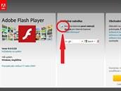Spolu s novou verzí Flash Playeru vám Adobe nutí Google Toolbar nebo jiný produkt, ale stačí nabídku (červený kruh) jen odškrtnout.