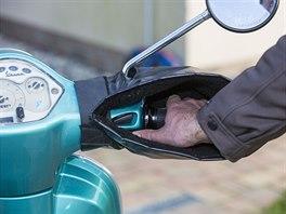 I s kapsami na řídítkách můžete pohodlně ovládat startér i blinkry
