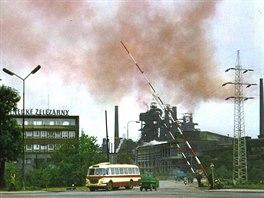 T�ineck� �elez�rny dok�zaly v 70. letech ovzdu�� (ne)p�kn� obarvit.