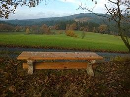 Tady bych vydržel sedět třeba celý den.