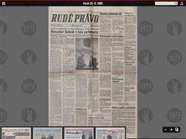 29. prosince 1989 - KSČ blahopřeje Dubčekovi