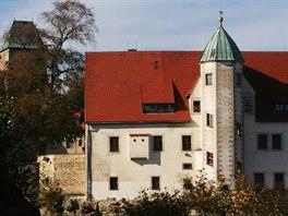 Součást hradního komplexu tvoří také renesanční Přední zámek.