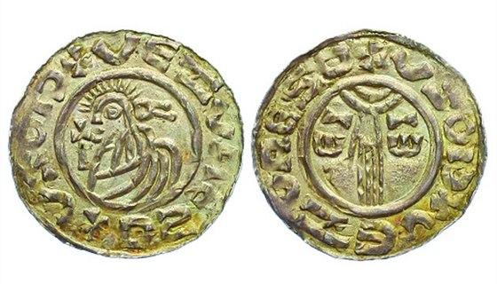 Soběslav Slavníkovec, 985 – 995, Denár, C.153_R!