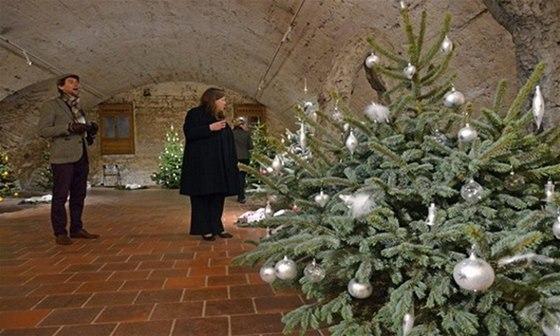 Zámecké sklepení provoní jehličí i vánoční svařák