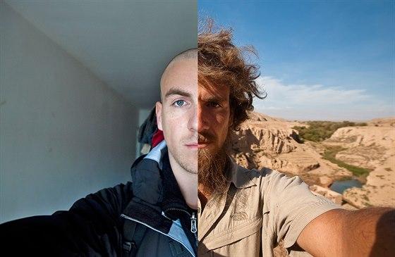Start a cíl. Takhle putování přes Čínu Christopha změnilo.