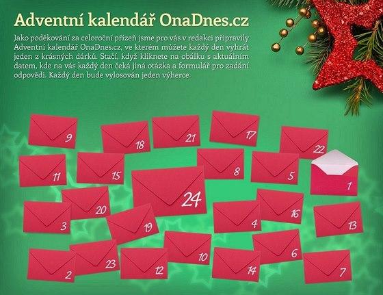 Klikněte na Adventní kalendář a soutěžte!