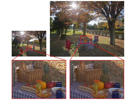 Schopnosti nového snímače Sony IMX230