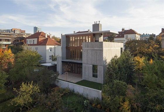 Josef Pleskot – AP Atelier, vila v Podolí