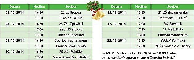 Druhý městský plzeňský obvod zve občany na vánoční akce