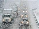 Problémy v dopravě před Dnem díkůvzdání (26. listopadu 2014)