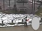 Tamir Rice na záznamu bezpečnostních kamer. (27. listopad 2014)
