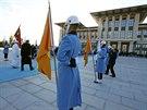 Papež František na návštěvě Turecka. (28. listopadu 2014)