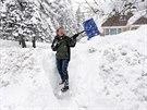Sněhová kalamita ve státě New York (19. listopadu 2014)
