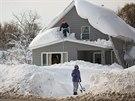 Sněhová kalamita v Buffalu (19 listopadu 2014)