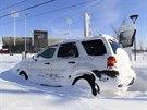 Buffalo a západ státu New York trápí sněhová kalamita (21. listopadu 2014)