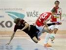 Z futsalového derby Slavia vs Sparta