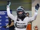 SPOKOJENÝ. Nico Rosberg vyhrál v Abú Zabí kvalifikaci. Povede se mu i v samotném závodě?